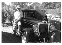 Jon Moore with his 33 Dodge
